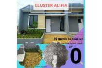 Cluster alifia kota bogor DP0% free semua biaya strategis