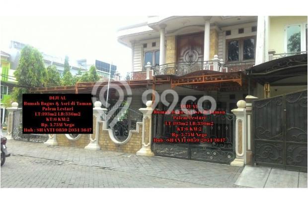 Rumah bagus, asri & siap huni di taman palem lestari 6373518