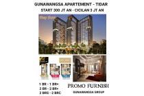 Apartemen Apartment Gunawangsa Tidar Surabaya Siap Huni Baru