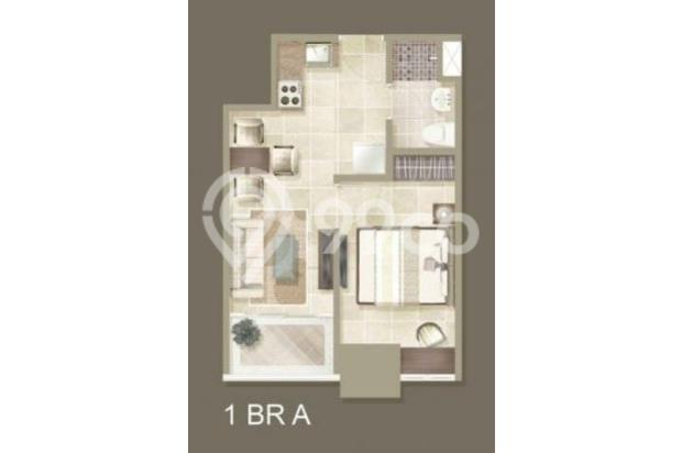 Condo Green Bay Pluit tipe 1BR super murah, view city lantai sedang 17516344