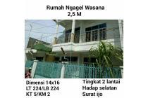 Dijual Rumah ngagel wasana Surabaya murah nego