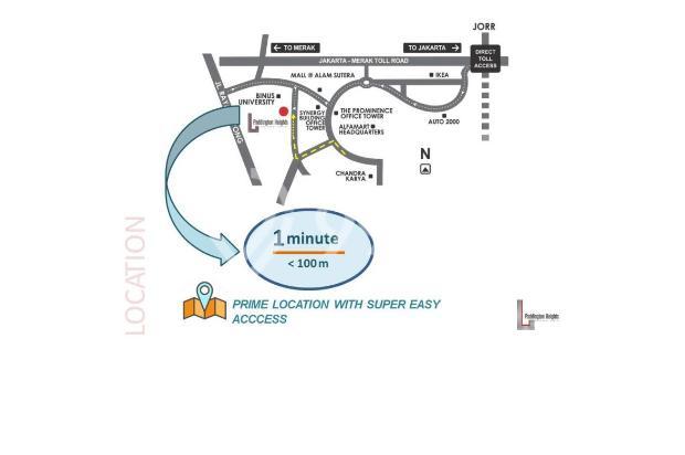 Apartemen Idaman Paddington Heights dengan Lokasi Strategis 13206200