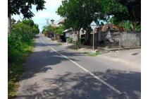 Tanah Di Pinggir  Jln Gajah Sura Ahmad Yani  Denpasar Bali