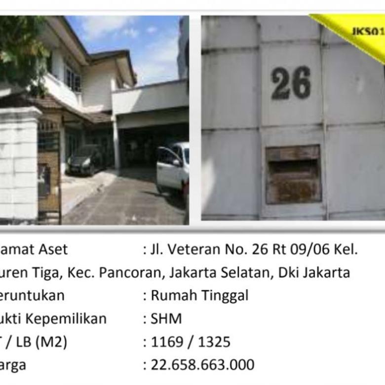 Aset Sitaan Rumah Duren Tiga Pancoran Jakarta Selatan