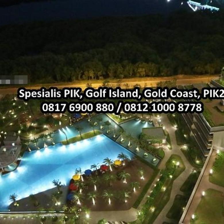 Apartemen Gold Coast PIK Studio, Sea View, Furnished