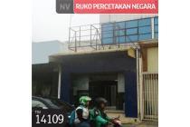 Ruko Percetakan Negara, Jakarta Pusat, 111 m², 3 Lt, SHM
