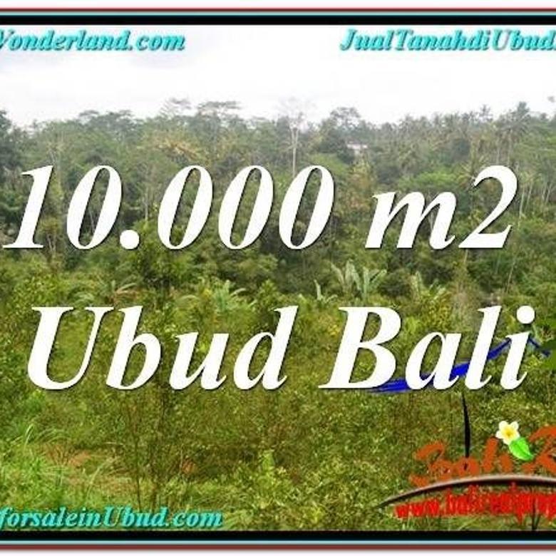 Tanah Murah View Sungai dan Tebing di Ubud Tampak Siring KUBD6