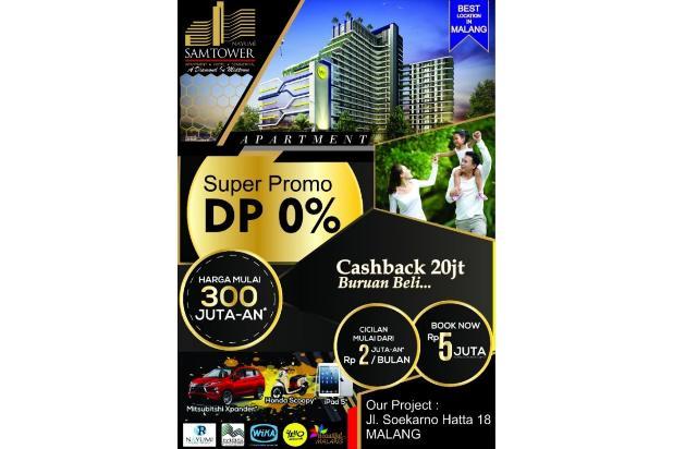 Dijual Apartemen Nayumi Sam Tower Malang 16225393