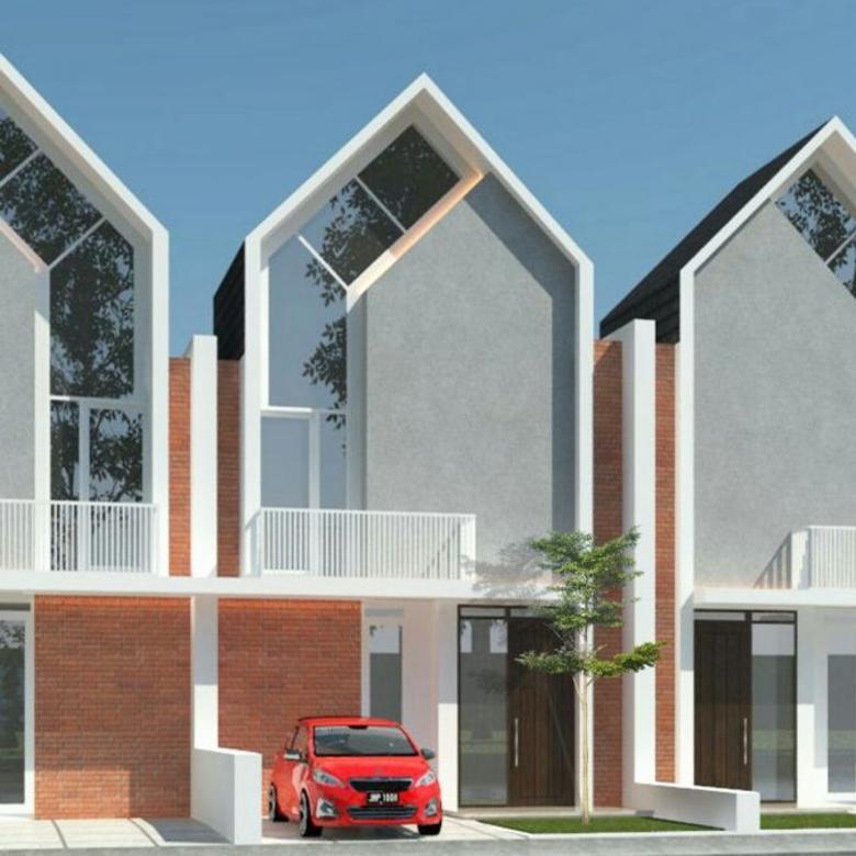 Dijual Rumah asri lingkungan sejul SHM Landungsari Malang Kota