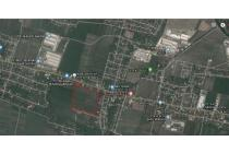 Dijual lahan di daerah Kebangringgit Pungging plot untuk industri