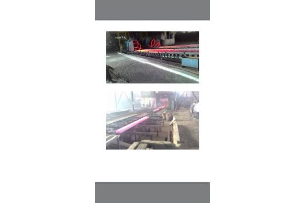 pabrik baja siap take over