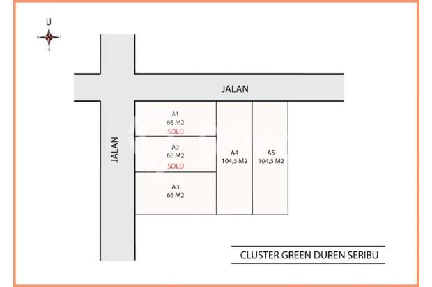 Kami Transaksikan Tanah Matang SHM-IMB: Green Melati Duren seribu 15036912