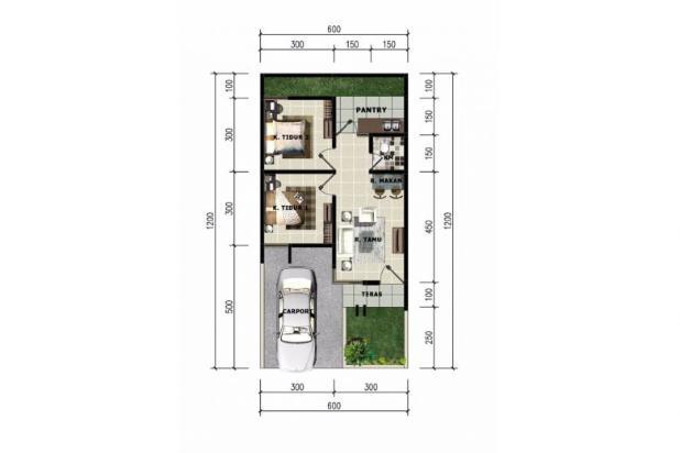 Rp232jt Rumah Dijual