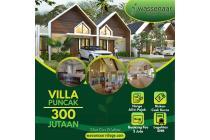 Villa 1 lantai di puncak suasana berkabut sejuk dan nyaman