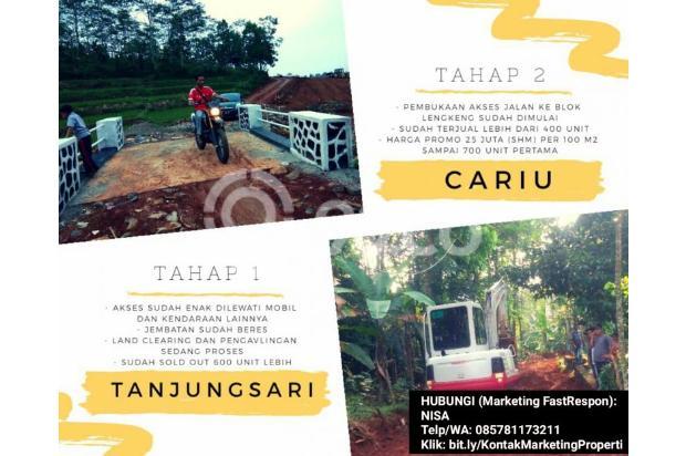 INVESTASI Kavling (100m2) 22JUTA Di Kab Bogor GRATIS 4 Pohon (DURIAN dll) 17935443