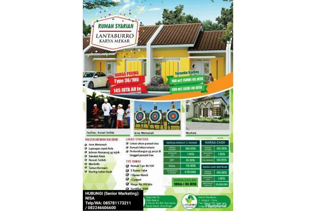 INVESTASI Kavling (100m2) 22JUTA Di Kab Bogor GRATIS 4 Pohon (DURIAN dll) 17935450