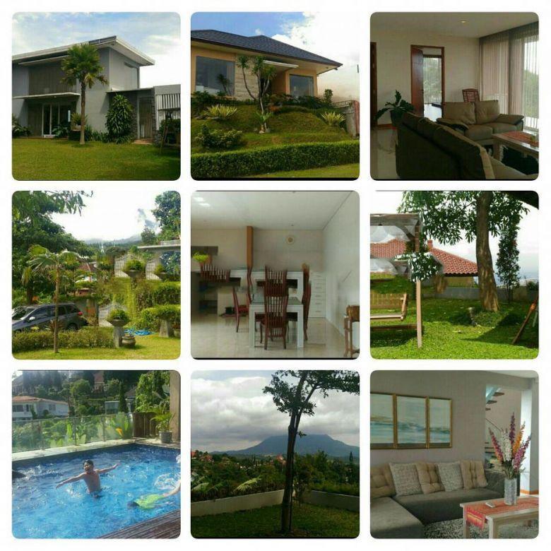 Dijual Rumah Mewah Minimalis Ada Pool di Villa Tretes Pasuruan