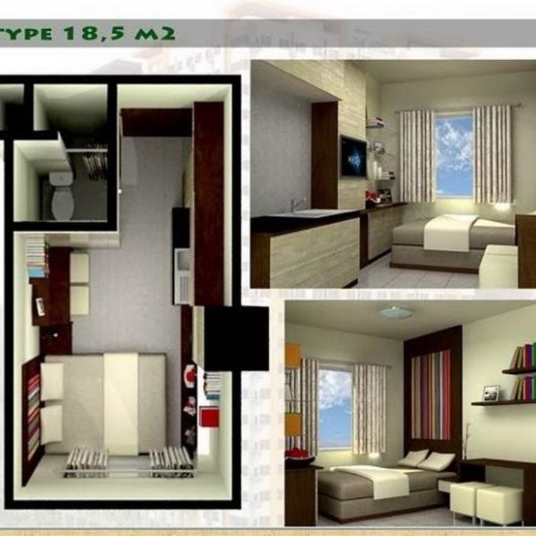 Studio mudah disewakan Kawasan Cihampelas, apartemen Bandung