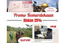 Investasi Kavling di Meruyung Dijamin Diskon 25%