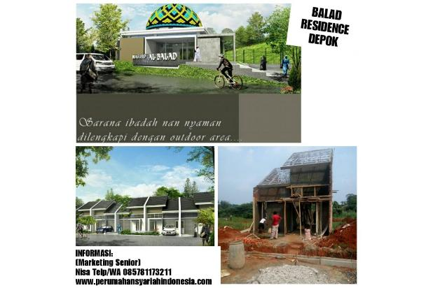 Rumah KPR Syariah Tanpa BI Checking Di Dekat STASIUN DEPOK | Cicilan 3Juta 16579306