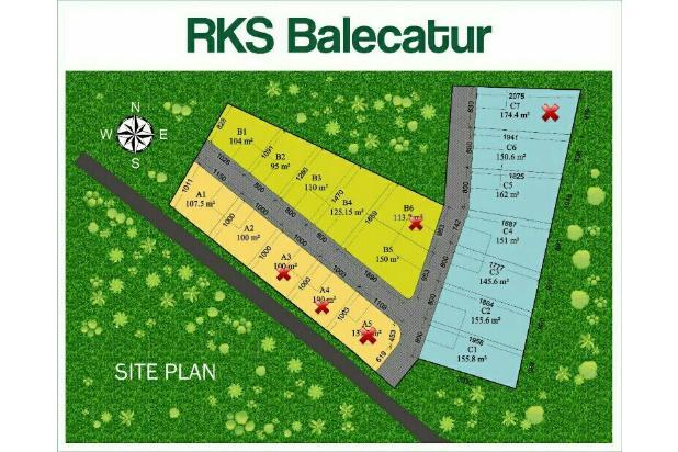 Rp133jt Tanah Dijual