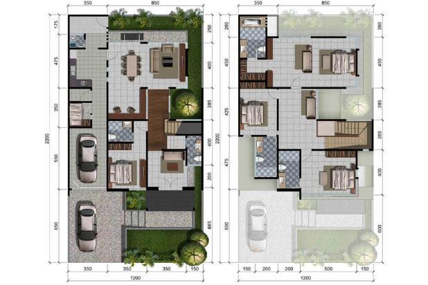 Rp954jt Rumah Dijual