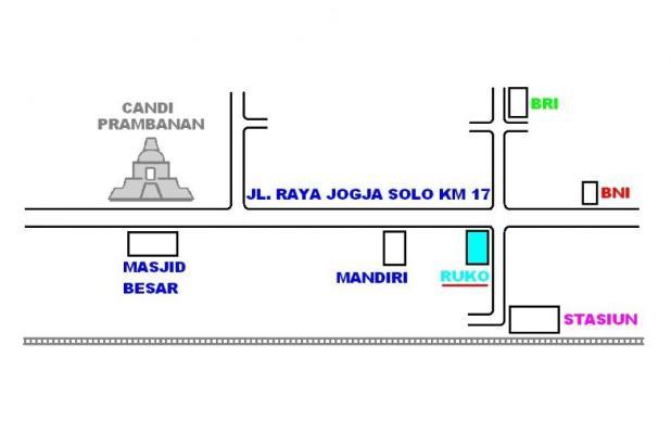 Ruko 2 Lantai Dijual atau Bisa Juga Dikontrakkan Pinggir Jalan Jogja Solo 9488993