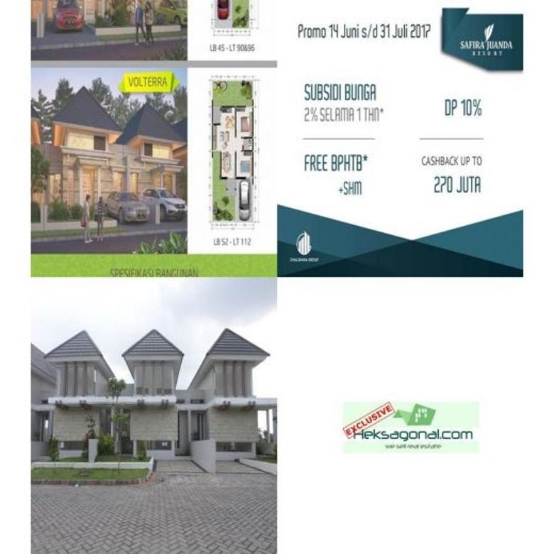 Rumah Mewah Dijual Dp ringan Safira Juanda HKS3197