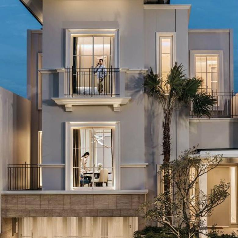 south grove residence lebak bulus by intiland - luxurious town house
