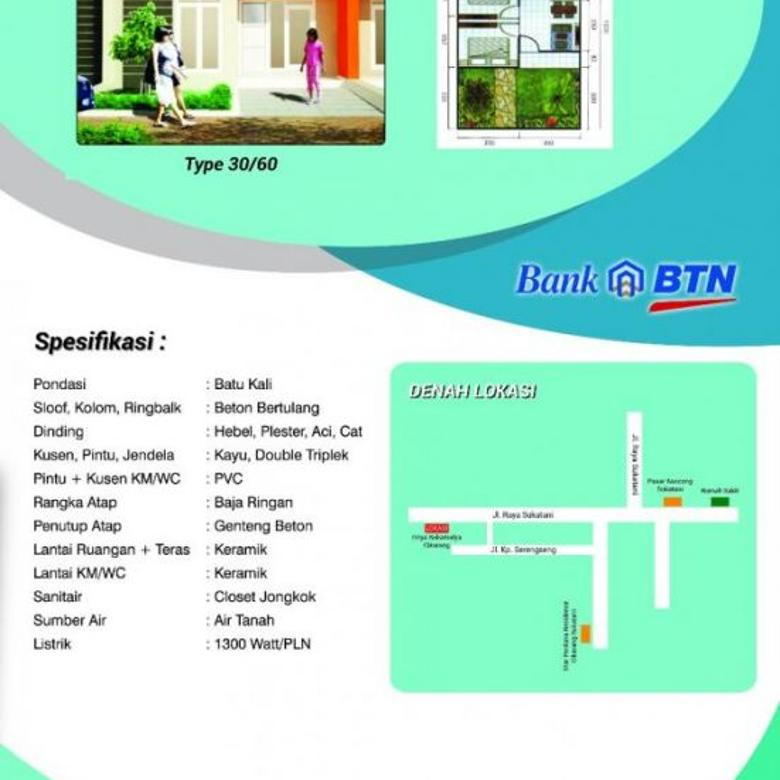 82+ Gambar Denah Rumah Btn Terbaru