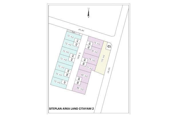 Pola Mudah Beli Tanah Citayam, Angsur 12 X Bebas Bunga 16578907