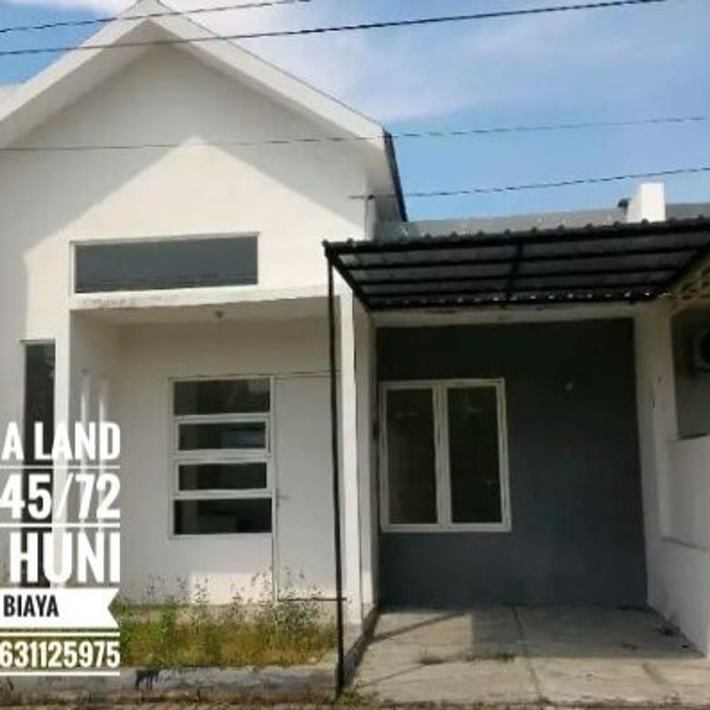 Rumah siap huni gracia land type 45/75 Free biaya biaya