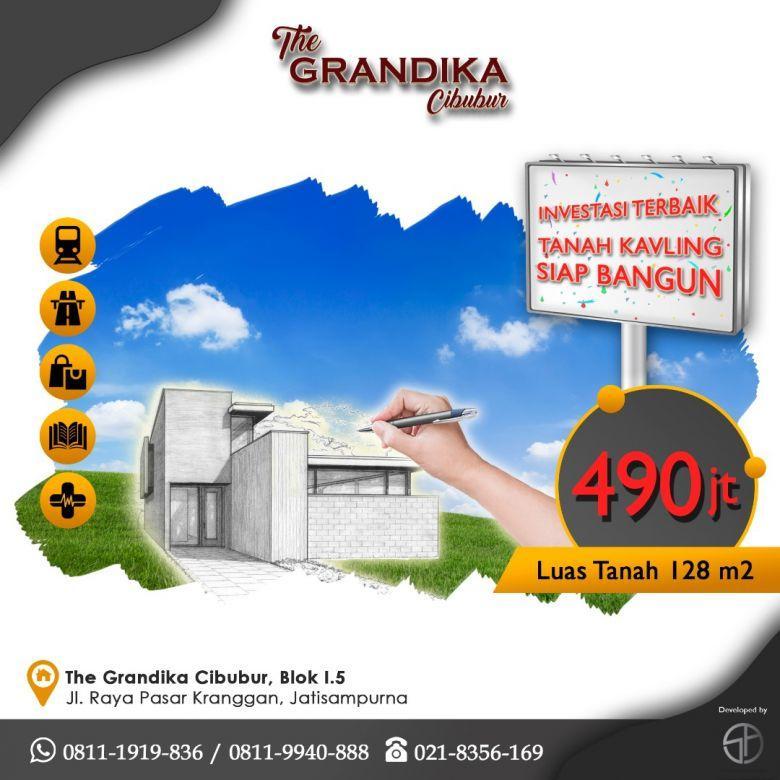 Dijual Tanah Siap Bangun Murah di The Grandika Cibubur Bekasi