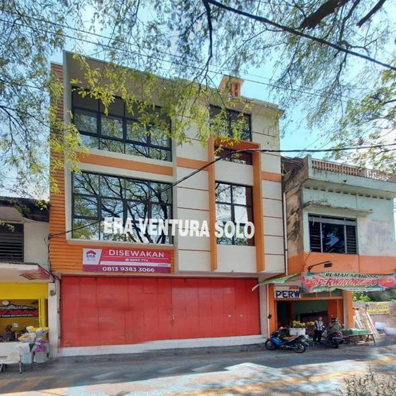 Ruko Kawasan Pusat Bisnis Tengah Kota Solo