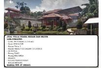 Villa Mewah ada Kolam Pemancingan dan Kolam Renang di Cimaung
