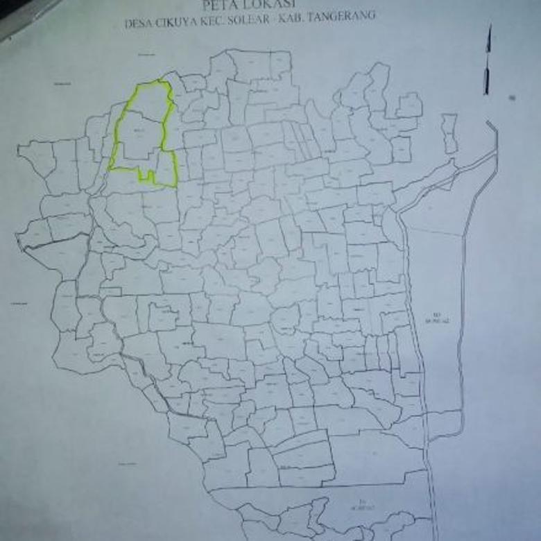 Tanah peruntukan perumahan di Cikuya Solear Tangerang