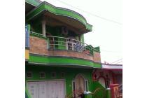 Rumah 2 lantai dekat jalan