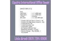 Office Space Ciputra International. lokasi bagus, termurah