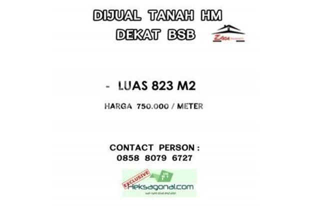 Tanah Dijual Semarang hks6653 18439912