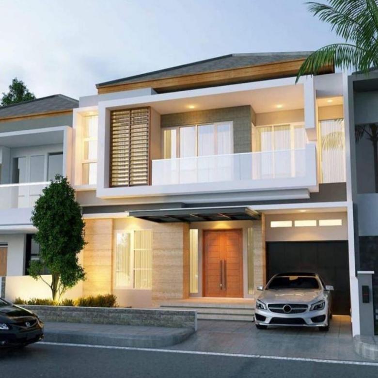 Dijual rumah baru lux di Singgasana