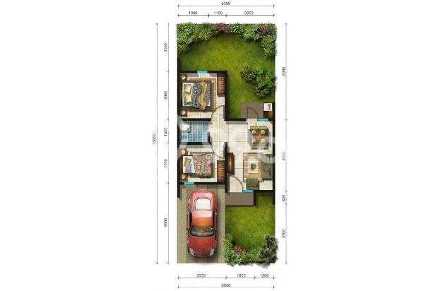 Rumah Modern 2 KT Type 36/90 Citra Indah Cibubur Bogor 3573346