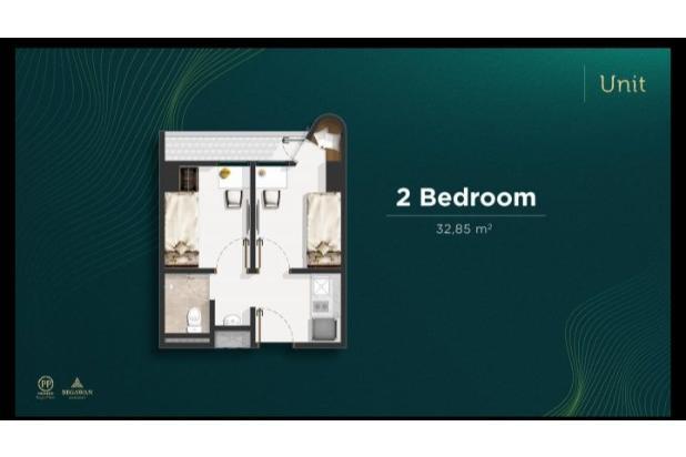 Rp387jt Apartemen Dijual
