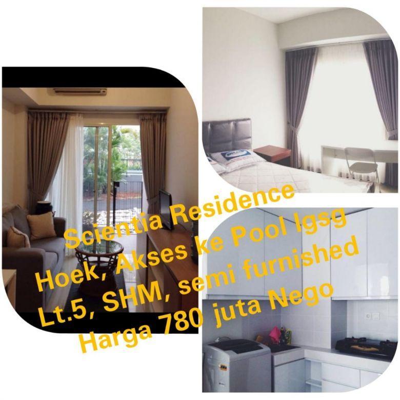 Jual Cepat Apartemen Scientia Garden Tangerang, Strategis