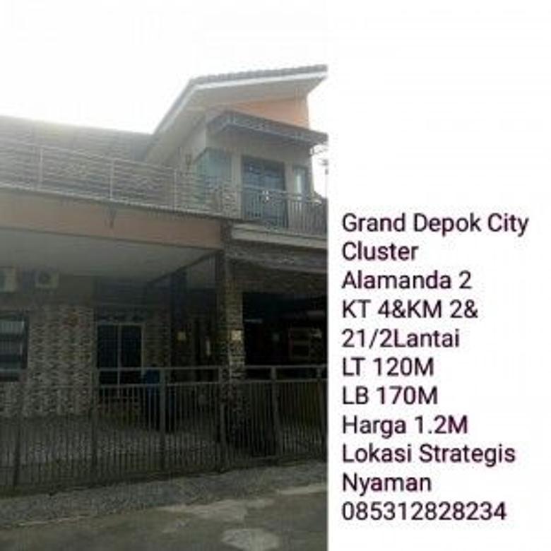 Rumah Dijual Grand Depok Cluster Alamada 2 hks4825