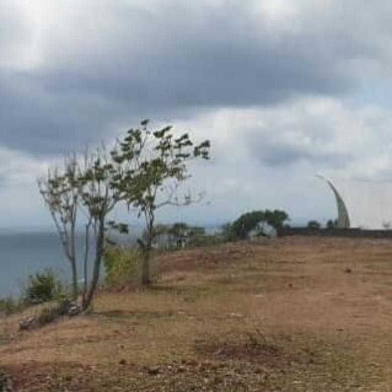 Tanah  Los Tebing Laut Di Pecatu Pantai Suluban Kuta Selatan B