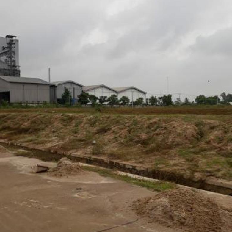 Kavling siap bangun di kawasan industrial park cocok utk pabrik gudang