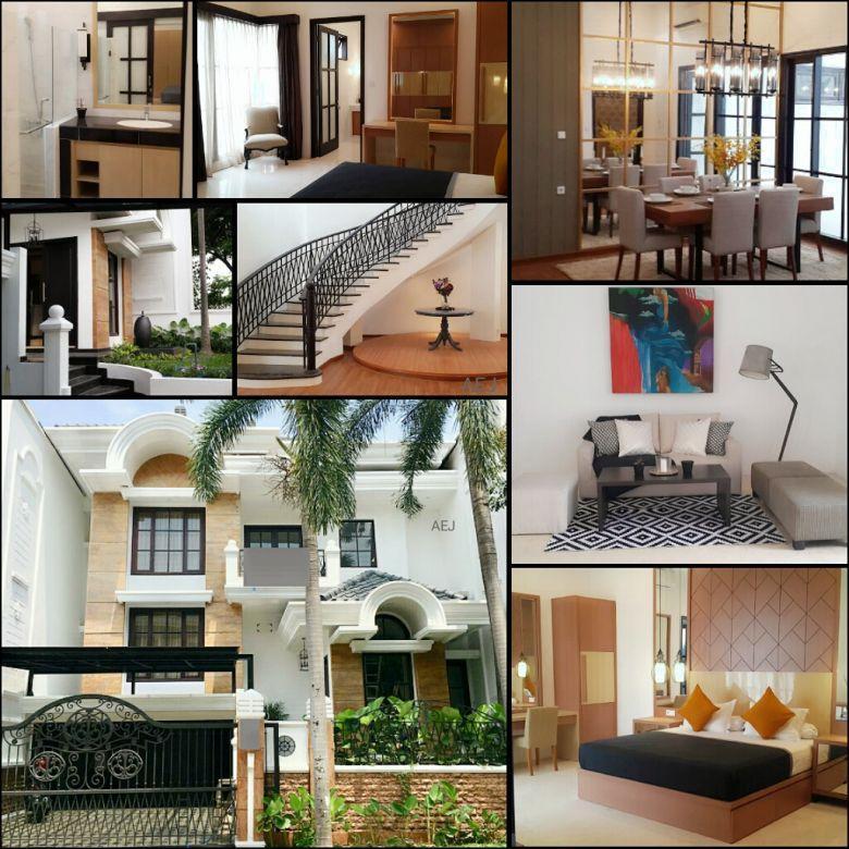 Rumah Super Mewah Cantik Elegan+Full Furnish Graha Famili