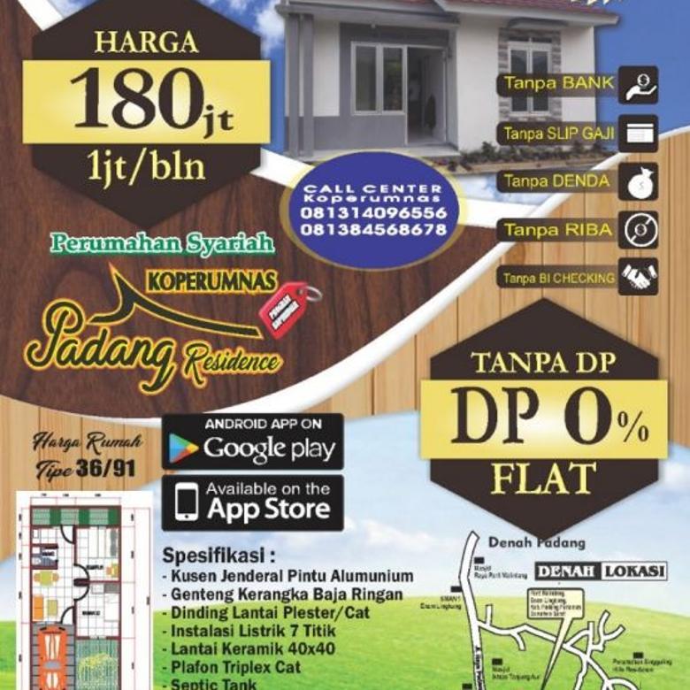 Padang Residence - Rumah Desko 0%