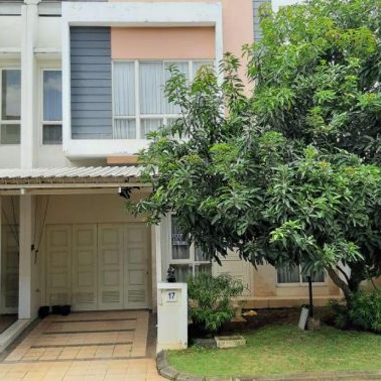 Dijual Rumah Nyaman Asri di Summarecon Serpong, Tangerang