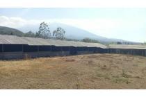Tanah murah plus bangunan kandang luas di Gunungsari Batu